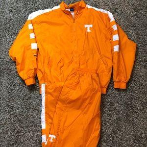 Vintage 90s Adidas Tennessee Vols Mens Track Suit